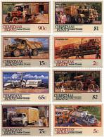 Ref. 82488 * NEW *  - CHRISTMAS Islands . 1990. MEANS OF TRANSPORTATION. MEDIOS DE TRANSPORTE - Christmaseiland