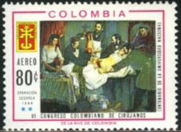 Ref. 177179 * NEW *  - COLOMBIA . 1967. CENTENARY OF NATIONAL UNIVERSITY AND 6th SURGERY CONGRESS. CENTENARIO DE LA UNIV - Colombia