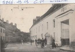 Militaria  : Provins - Le Quartier De Cavalerie - Guerre 1914-18