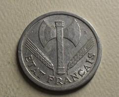 1943 - France - 2 FRANCS, Bazor, Etat Français, KM 904, Gad 536 - I. 2 Francs