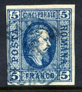 ROMANIA 1865 Prince Cuza 5 Para Used.   Michel 12x - 1858-1880 Moldavia & Principality