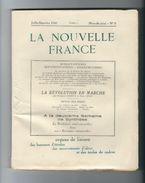 VICHY 1943. Revue LA NOUVELLE FRANCE, Juillet- Spt N°2/Organe Liaison Des Bureaux D'etudes Des Mvts D'idées Et De Cadres - 1939-45