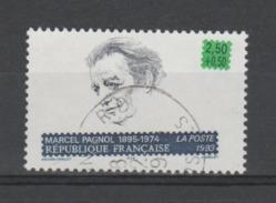 "FRANCE / 1993 / Y&T N° 2802 : ""Ecrivains"" (Marcel Pagnol) - Choisi - Cachet Rond - France"
