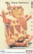 Peru - Botella Escultorica Nazca, Ica - Serie Junio/93 - Peru