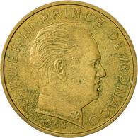Monaco, Rainier III, 20 Centimes, 1962, TTB, Aluminum-Bronze, KM:143, Gadoury:MC - Monaco
