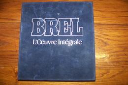 BREL - L'Oeuvre Intégrale - Audio Tapes