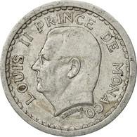 Monaco, Louis II, Franc, Undated (1943), Poissy, TTB, Aluminium, KM:120 - Monaco