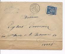LST --   La Cadière  ( 83 )  à   Paris    --   Y.T 90 . -- 1885 --  B.E   . - 1877-1920: Période Semi Moderne
