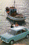 Fiat 124 - Cartoline