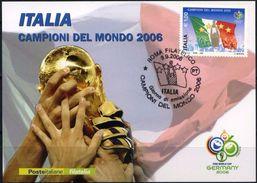 Italia, World Cup 2006, Card - Coupe Du Monde