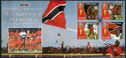 Trinidad & Tobago, World Cup 2006, FDC - Coupe Du Monde