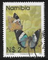 Namibia, Scott # 752 Used Butterflies, 1993 - Namibia (1990- ...)