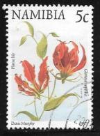 Namibia, Scott # 853 Used Flowers, 1997 - Namibia (1990- ...)