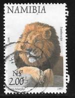 Namibia, Scott # 867 Used Lion, 1997 - Namibia (1990- ...)