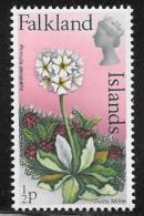 Falkland Islands, Scott # 210 MNH Flowers, 1972 - Falkland