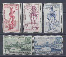 A.E.F. 1941 - 87/89 - 90/91 - Neufs Charnières Traces Légères - X - Cote 13.30 € - Neufs