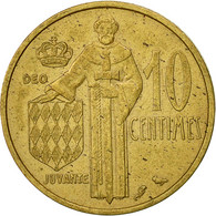 Monaco, Rainier III, 10 Centimes, 1962, TTB, Aluminum-Bronze, KM:142 - 1960-2001 Nouveaux Francs