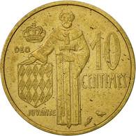 Monaco, Rainier III, 10 Centimes, 1962, TTB, Aluminum-Bronze, KM:142 - Monaco