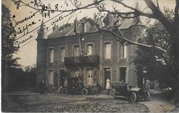 76 - DIEPPE - Grand PRIX AUTOMOBILE 1908 - Belle CARTE PHOTO - Etat Impeccable - Circulé - Dieppe