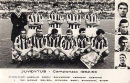 JUVENTUS - Campionato 1962-63 - (cm. 20 X 12,8) - Voetbal
