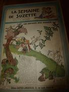 1946 LSDS  : La Fausse Pâtissière De Perpignan était AGENT De LIAISON Pour La Résistance Pendant La Guerre 1939-45; Etc - La Semaine De Suzette