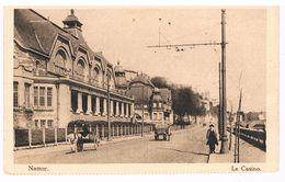 CPA : NAMUR - Le Casino - Attelages - Namur