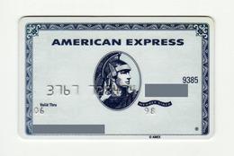 American Express USA White Centurion AMERICAN EXPRESS Expired 2006 - Geldkarten (Ablauf Min. 10 Jahre)