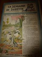 1946 LSDS (La Semaine De Suzette) : AU VERT ROYAUME DES NENUPHARS; Etc - La Semaine De Suzette