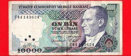 TURCHIA - Banconota Circolata - 1970 - On Bin - 10000 - Turchia