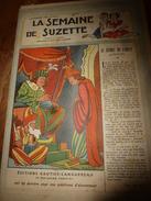 1948 LSDS (La Semaine De Suzette) : Au Château Des NOUETTES; Les Bagages Pour Le SCOUTISME;etc - La Semaine De Suzette