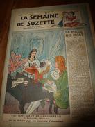 1948 LSDS  :La Fugue Du CHAT; Souhaits Des Enfants De La Guerre;SCOUTISME Plein Air;etc - La Semaine De Suzette