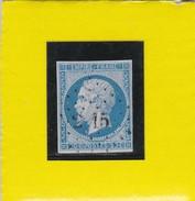 N°14 A  PC 2915    SOLRE LE CHATEAU  /   NORD     REF 12914 - Variété - 1853-1860 Napoléon III