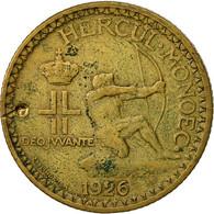 Monaco, Louis II, 2 Francs, 1926, Poissy, TTB, Aluminum-Bronze, KM:115 - Monaco