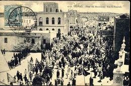 SYRIE  LIBAN  TRIPOLI DE BARBARIE  FETES DES MARABOUTS  RUE SI  HMOUDA  Edition  ;  Salah Ben Gemha  Tripoli - Syrie