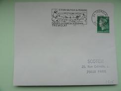 TREMOLAT STATION NAUTIQUE DU PERIGORD PANORAMA DU CINGLE SUR LA DORDOGNE - Marcophilie (Lettres)