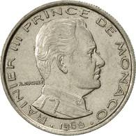 Monaco, Rainier III, Franc, 1968, SUP, Nickel, KM:140 - 1960-2001 Nouveaux Francs