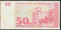 °°° MACEDONIA - 50 DENARI 1993 °°° - Macedonia