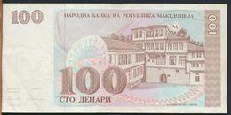 °°° MACEDONIA - 100 DENARI 1993 °°° - Macedonia