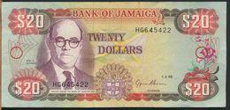 °°° JAMAICA - 20 $ DOLLARS 1995 °°° - Jamaica
