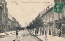 G120 - 39 - CHAMPAGNOLE - Jura - La Grande Rue - Champagnole