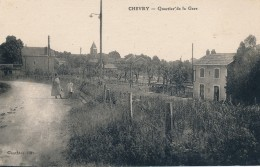 G120 - 77 - CHEVRY - Seine-et-Marne - Quartier De La Gare - Other Municipalities