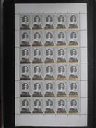 TIMBRE LOT 4 FEUILLE COMPLèTE N°1, 2, 3, 4  (V1727) 10/12/1962 ANTI-TUBERCULEUX N°1234 (2 Vues) Défaul Planche 1, 3, 4 - Volledige Vellen