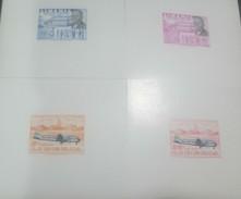O) 1957 LIBERIA, PROOF, COLOR VARIETY, SERVICE BETWEEN ROBERTS FIELD, IDLEWILD AIRPORT NEW YORK, SCOTT A146, MNH - Liberia