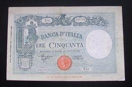 Italy 50 Lire 1943 - 50 Lire