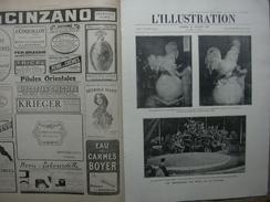 L'ILLUSTRATION 3984 DIRIGEABLE R34/ FETE DE LA VICTOIRE/ TUNNEL MACKENSEN 12 JUILLET 1919 Avec 8 Pages De Pubs Sans Supp - Journaux - Quotidiens