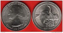 "USA Quarter (1/4 Dollar) 2014 P Mint ""Everglades"" UNC - 2010-...: National Parks"