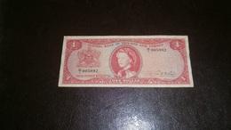 TRINIDAD & TOBAGO 1 DOLLAR 1964 VF - Trinidad & Tobago