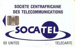*REPUBBLICA CENTROAFRICANA* - Scheda Usata - Repubblica Centroafricana