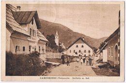 Camporosso-Saifnitz ( Carnia - Udine )  Viaggiata 1928 - Raro Annullo Camporosso Valcanale - Friuli - Udine