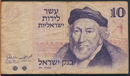 °°° ISRAEL - 10 LIROT 1973 °°° - Israele